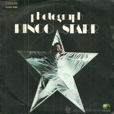 Discos de vinilo: RINGO STARR (BEATLES) SINGLE SELLO EMI-ODEON AÑO 1973 EDITADO EN ESPAÑA. Lote 49722290
