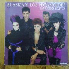 Discos de vinilo: ALASKA Y LOS PEGAMOIDES - GRANDES EXITOS - (HISPAVOX-1982) MOVIDA LP . Lote 100673940