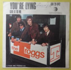Discos de vinilo: GIVE IT TO ME. YOU'RE LYING. THE TROGGS.. Lote 49728034