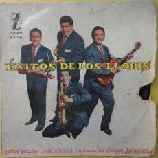 Discos de vinilo: ÉXITO DE LOS LLOPIS. ZAFIRO. 45 RPM. 1960. Lote 49728356