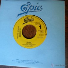 Discos de vinilo: OBJETIVO BIRMANIA - LA CAZA (JUAN & JUNIOR) .- SINGLES A 0,90 - DISCO PROMOCIONAL. Lote 49731687