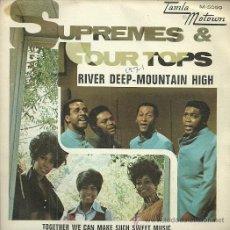 Discos de vinilo: SUPREMES & FOUR TOPS SINGLE SELLO TAMLA-MOTOWN AÑO 1971 EDITADO EN ESPAÑA. Lote 49735208