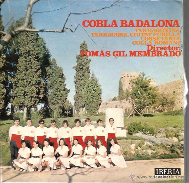 EP COBLA BADALONA - SARDANES : TARRAGONINA + 3 (Música - Discos de Vinilo - EPs - Étnicas y Músicas del Mundo)