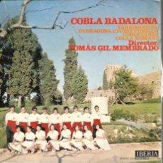 Discos de vinilo: EP COBLA BADALONA - SARDANES : TARRAGONINA + 3 . Lote 49737378