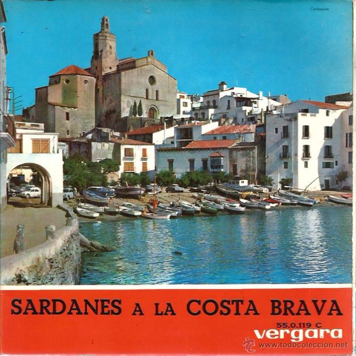 EP COBLA LAIETANA : SARDANES A LA COSTA BRAVA : BONA FESTA + 3 (Música - Discos de Vinilo - EPs - Étnicas y Músicas del Mundo)