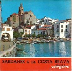 Discos de vinilo: EP COBLA LAIETANA : SARDANES A LA COSTA BRAVA : BONA FESTA + 3 . Lote 49737796