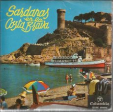 Discos de vinilo: EP COBLA COSTA BRAVA : SARDANAS EN LA COSTA BRAVA : SOTA EL MAS VENTOS + 3 . Lote 49737872