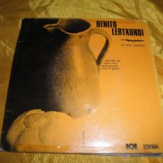 Discos de vinilo: BENITO LERTXUNDI. SUJET EDER BAT + 3. EP. HERRI GOGOA- EDIGSA 1968. Lote 49740421