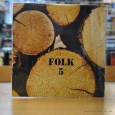 Discos de vinilo: XESCO BOIX I GRUP EL SAC - FOLK 5 - EP. Lote 49742371