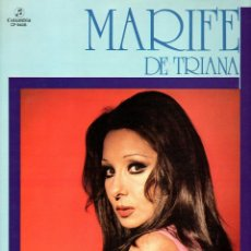 Discos de vinilo: MARIFE DE TRIANA 1975 COLUMBIA CP 9408. Lote 49742999