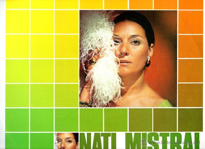 NATI MISTRAL 1975 COLUMBIA ESTEREO CPS 9397 PROMOCIONAL (Música - Discos - LP Vinilo - Flamenco, Canción española y Cuplé)