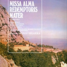 Discos de vinilo: MISSA ALMA REDEMPTORIS MATER ANSELM VIOLA ESCOLANIA DE MONTSERRAT 1971 COLUMBIA CPS 9063 ESTEREO. Lote 49743383