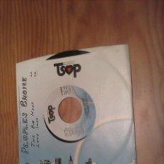 Discos de vinilo: PEOPLES CHOICE THE BIG HURT SINGLE. Lote 49745120