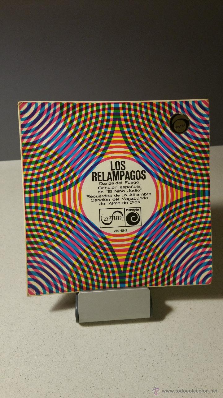 LOS RELÁMPAGOS DANZA DEL FUEGO +3 EP (Música - Discos de Vinilo - EPs - Grupos Españoles 50 y 60)