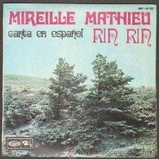 Discos de vinilo: MIREILLE MATHIEU CANTA EN ESPAÑOL. RIN RIN;NAVIDADES BLANCAS;PETIT PAPA NOEL...RF-8570. Lote 194726658