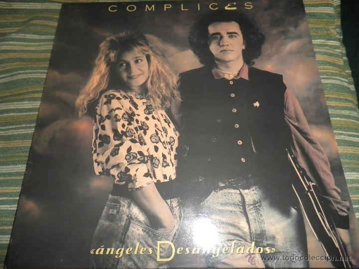 COMPLICES - ANGELES DESANGELADOS LP - ORIGINAL ESPAÑOL - RCA RECORDS 1989 - CON FUNDA INT. ORIGINAL (Música - Discos - LP Vinilo - Grupos Españoles de los 70 y 80)