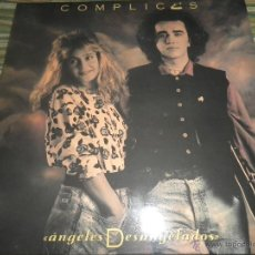 Discos de vinilo: COMPLICES - ANGELES DESANGELADOS LP - ORIGINAL ESPAÑOL - RCA RECORDS 1989 - CON FUNDA INT. ORIGINAL . Lote 49748329