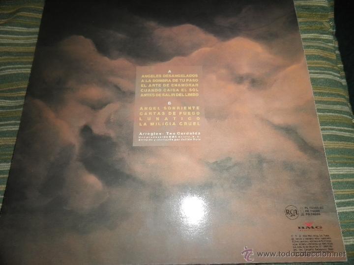 Discos de vinilo: COMPLICES - ANGELES DESANGELADOS LP - ORIGINAL ESPAÑOL - RCA RECORDS 1989 - CON FUNDA INT. ORIGINAL - Foto 2 - 49748329
