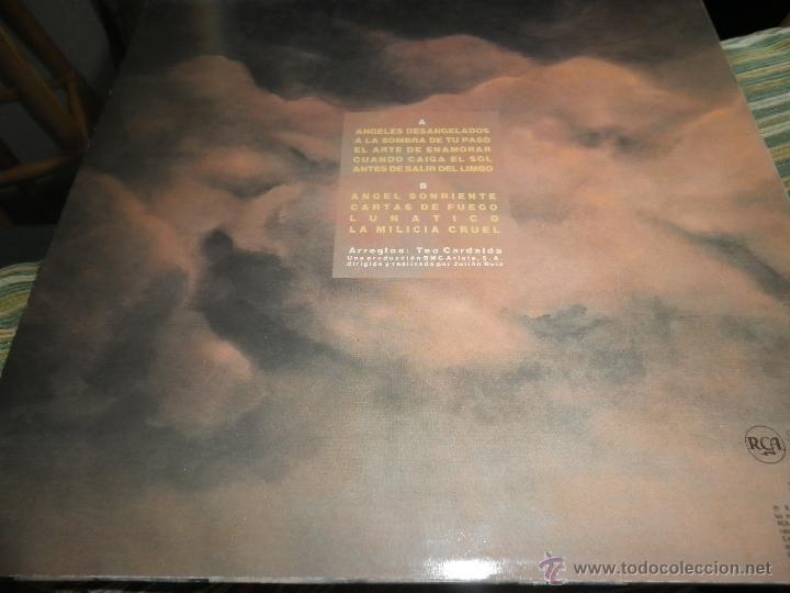 Discos de vinilo: COMPLICES - ANGELES DESANGELADOS LP - ORIGINAL ESPAÑOL - RCA RECORDS 1989 - CON FUNDA INT. ORIGINAL - Foto 5 - 49748329