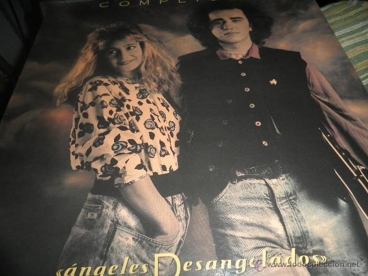 Discos de vinilo: COMPLICES - ANGELES DESANGELADOS LP - ORIGINAL ESPAÑOL - RCA RECORDS 1989 - CON FUNDA INT. ORIGINAL - Foto 6 - 49748329
