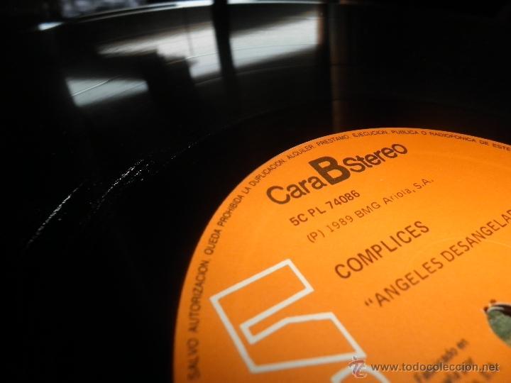 Discos de vinilo: COMPLICES - ANGELES DESANGELADOS LP - ORIGINAL ESPAÑOL - RCA RECORDS 1989 - CON FUNDA INT. ORIGINAL - Foto 16 - 49748329