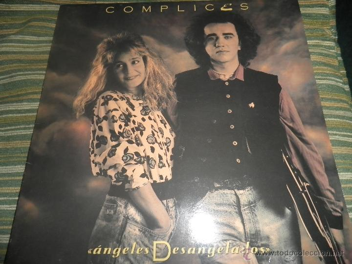Discos de vinilo: COMPLICES - ANGELES DESANGELADOS LP - ORIGINAL ESPAÑOL - RCA RECORDS 1989 - CON FUNDA INT. ORIGINAL - Foto 18 - 49748329
