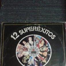 Discos de vinilo: 12 SUPEREXITOS - CAMILO SESTO, ROCIO DURCAL, JULIO IGLESIAS, BOB MARLEY - IBL -. Lote 49748342