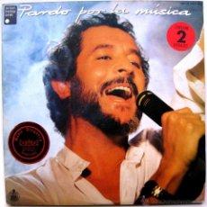 Discos de vinilo: JUAN PARDO - PARDO POR LA MÚSICA - DOBLE LP HISPAVOX 1985 BPY. Lote 49756718