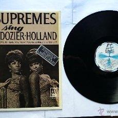 Discos de vinilo: THE SUPREMES - THE SUPREMES SING HOLLAND-DOZIER-HOLLAND (1967) (REEDICION 1982). Lote 49756805