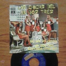 Discos de vinilo: LP LAS CHICAS DEL UN, DOS TRES, NO SEA VD. CICUTA, EMI ODEON. Lote 49757549