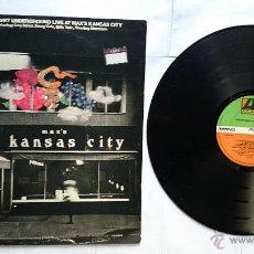 Discos de vinilo: THE VELVET UNDERGROUND - LIVE AT MAX'S KANSAS CITY (1ª EDICION UK 1972). Lote 49759676