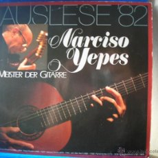 Discos de vinilo: NARCISO YEPES -AUSLESE 82-. Lote 49760338