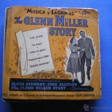 Discos de vinilo: EP DEL FILM MUSICA Y LAGRIMAS.GLENN MILLER.EN FORMA+3. Lote 49760411