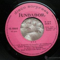 Discos de vinilo: EP FUNDADOR EVA VER FOTOS TITULOS 1969. Lote 49760684