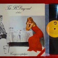 Discos de vinilo: TITO B. DIAGONAL EL DISCO LP CON DEDICATORIA MANUSCRITA. Lote 49764709