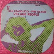 Discos de vinilo: VILLAGE PEOPLE - SAN FRANCISCO / FIRE ISLAND MAXI. Lote 49766991