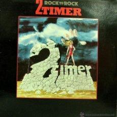 Discos de vinilo: 2 TIMER-ROCK TO ROCK LP VINILO 1986 (EU). Lote 49770641