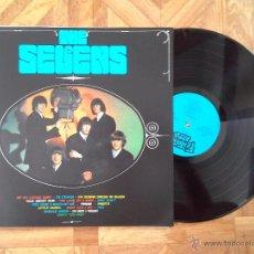 Discos de vinilo: THE SEVENS - IDEM - REED. ÚNICO LP 1966 - CARPETA EX VINILO EX. Lote 49770909