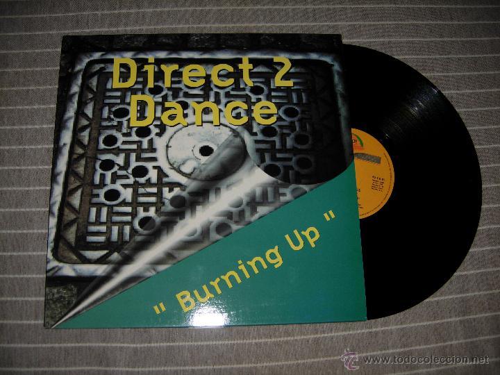 DIRECT 2 DANCE - BURNING UP / BOY RECORDS 1995 NUEVO (Música - Discos - Singles Vinilo - Techno, Trance y House)