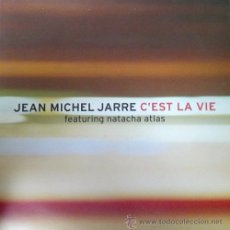Discos de vinilo: JEAN MICHEL JARRE FEAT NATACHA ATLAS - C'EST LA VIE REMIXES 12 PULGADAS MAXI 45 - PROMO. Lote 49773178