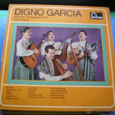 Discos de vinilo: DIGNO GARCIA AND HIS PARAGUAYAN TRIO LOS INDIOS LP FONTANA VINILO IMPEPABLE. Lote 49774984