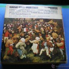 Discos de vinilo: LP-FAMOSAS OBRAS ORQUESTALES-BERLIOZ, GRIEG, SAINT-SAENS, BEETHOVEN, LISZT (SPAIN, DISCOPHON PEPETO. Lote 49775562