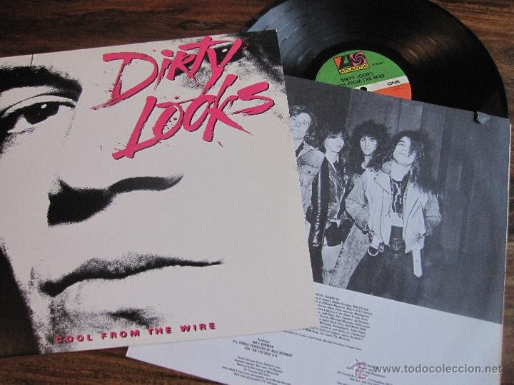 DIRTY LOOKS `COOL FROM THE WIRE` 1988 USA (Música - Discos - LP Vinilo - Heavy - Metal)