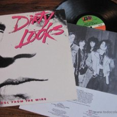 Discos de vinilo: DIRTY LOOKS `COOL FROM THE WIRE` 1988 USA. Lote 49763570