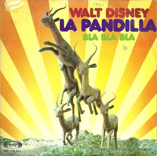 LA PANDILLA SINGLE SELLO MOVIEPLAY AÑO 1973 EDITADO EN ESPAÑA (Música - Discos - Singles Vinilo - Música Infantil)