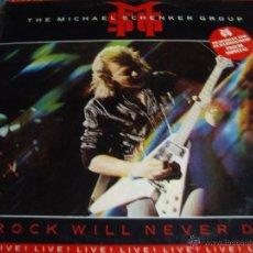 Discos de vinilo: THE MICHAEL SCHENKER GROUP-ROCK WILL NEVER DIE. Lote 49779462