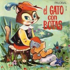 Discos de vinilo: CUENTO - EL GATO CON BOTAS, EP, EL GATO CON BOTAS + 1, AÑO 1968. Lote 49782668