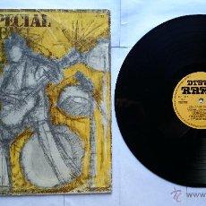 Discos de vinilo: VARIOS - ROCKESPECIAL DISCOTECA (MUSICOS ESPAÑOLES 70'S SELLOS: OCRE, CHAPA, NOVOLA) (PROMO 1978). Lote 49783933