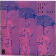 Discos de vinilo: CAPELLA CLÀSSICA POLIFÒNICA DEL F.A.D. (ENRIC RIBÓ) - CANÇÓ DE BARCELONA - EP 1971 - CONCENTRIC. Lote 49784254