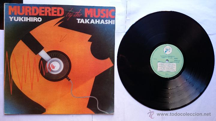 YUKIHIRO TAKAHASHI (YELLOW MAGIC ORCHESTRA - Y.M.O. - YMO -) - MURDERED BY THE MUSIC (1982) (Música - Discos - LP Vinilo - Pop - Rock - New Wave Extranjero de los 80)